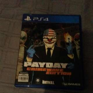 ps4 payday 2 crimewave edition game