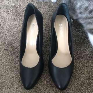 Sandler Black Heels