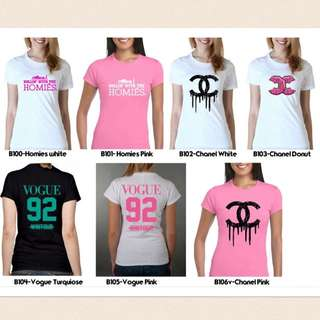 Custom Tshirt For Ladies