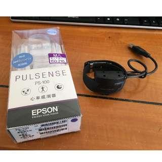 EPSON Pulsense 心率有氧教練 PS-100(心率運動手環)