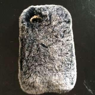 iPhone 5,5s Fake Rabbit Fur Case