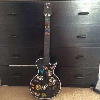2x PlayStation 3 Guitar Hero Guitars
