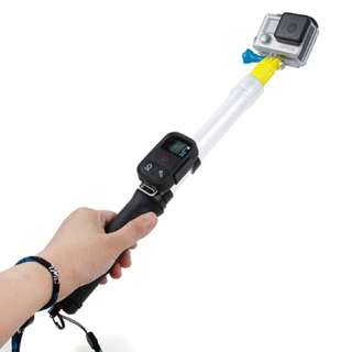 Floating Telescopic Monopod Selfie Stick For GoPro XiaoMi Yi Cam SJCam Action Cameras