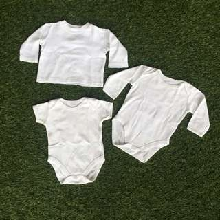 PL- Mothercare White Baby Wear