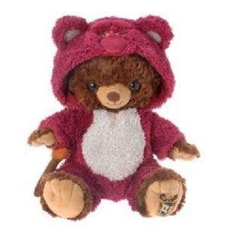 (誠徵)日本迪士尼商店 大學熊unibearsity熊抱哥 S號變裝衣服,吊飾