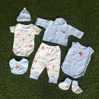 NEW & PL- Baby Set Of 7