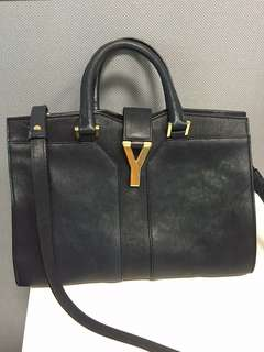 Pre-Owned Yves Saint Laurent Cabas Chyc Tote