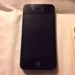 Blue And Black iPhone 4s 16gb