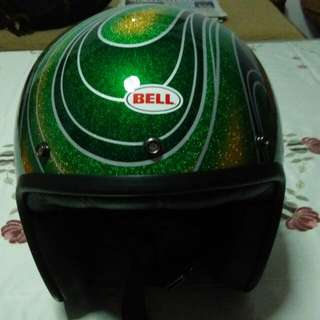 Bell Custom 500 Special Edition Chemical Candy Mean Green Helmet