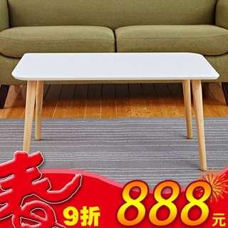【小當家圓角方桌】置物桌/收納茶几/萬用桌