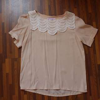Peachy Blouse