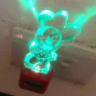 米妮七彩LED小夜燈