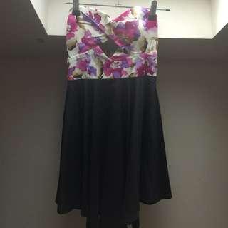 Strapless Cutout Dress
