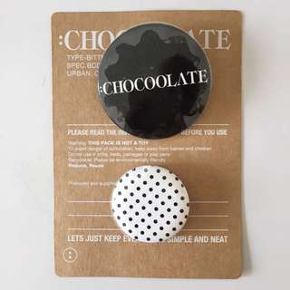 :CHOCOOLATE Button Badges