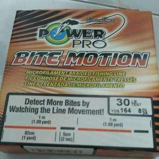 Power Pro Bite Motion 30lb Bnib