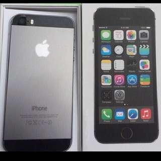 Iphone 5S 32GB - SpaceGrey 9.5/10 Excellent condition No Dents