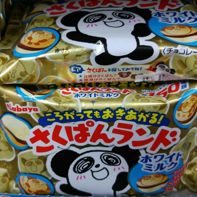 熊貓樂園巧克力牛奶夾心餅乾-65元