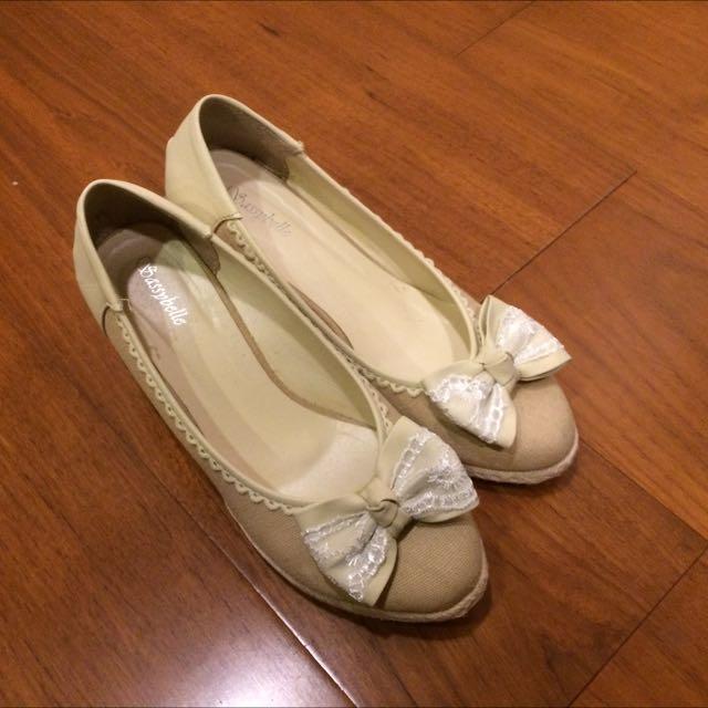 米色氣質高跟鞋✨降價