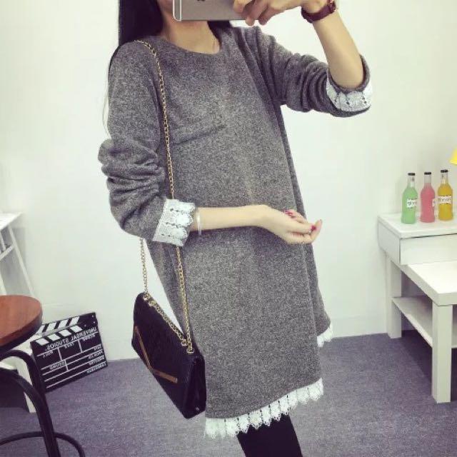 韓版時尚修身連身裙