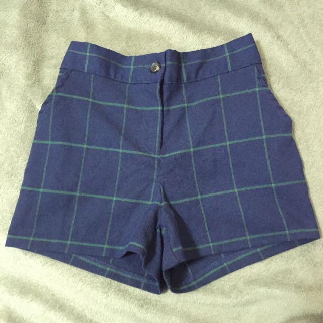挺版格紋褲(正韓)