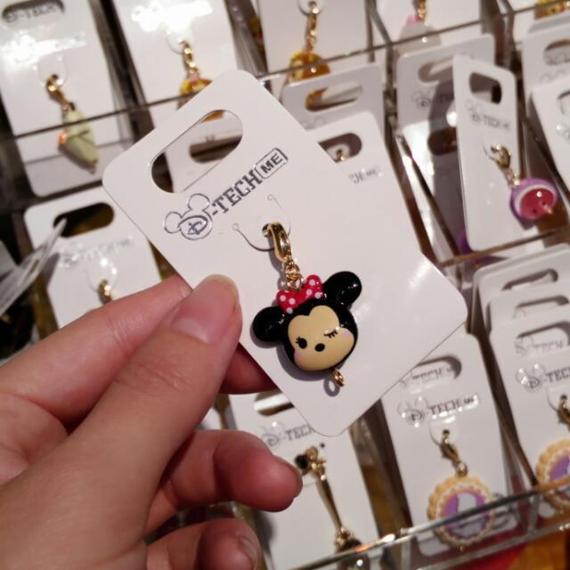 日本 東京 迪士尼 米妮 Tsum Tsum 手機 吊飾
