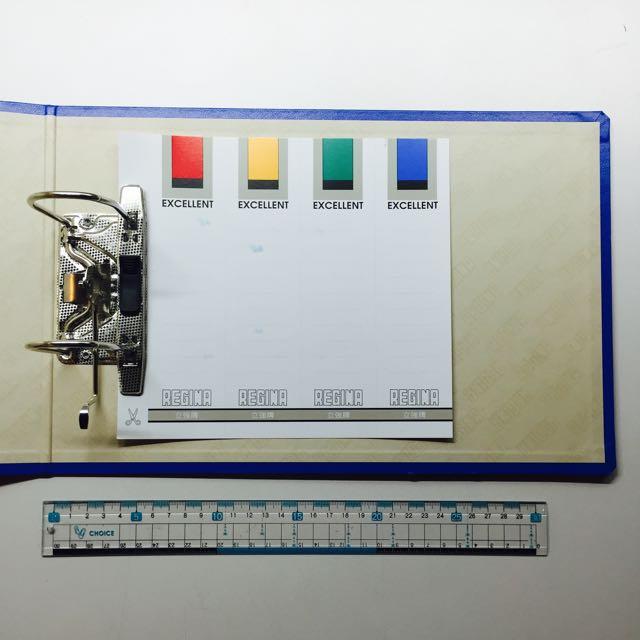 立強牌 二孔拱型檔案夾R723 (A4 橫式)