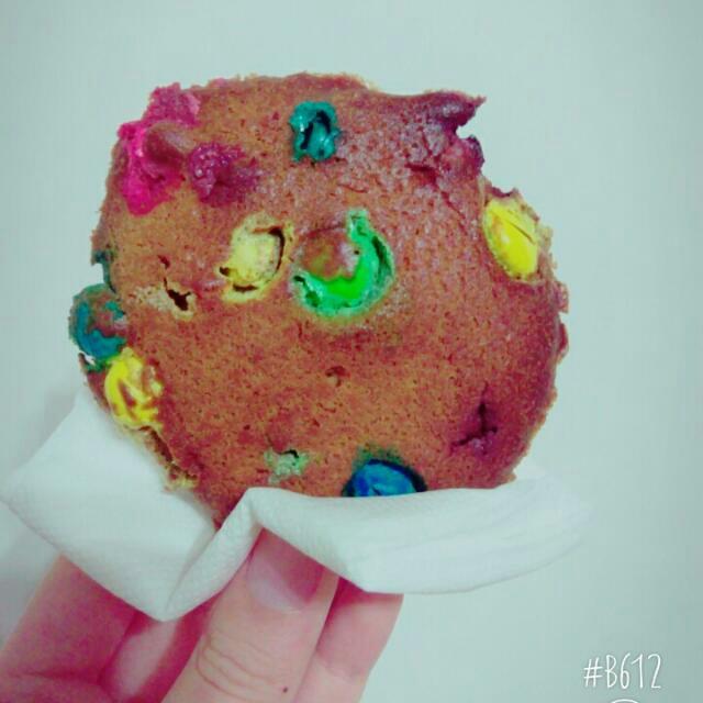 #分享# 手工美式MM巧克力軟餅乾😄😄
