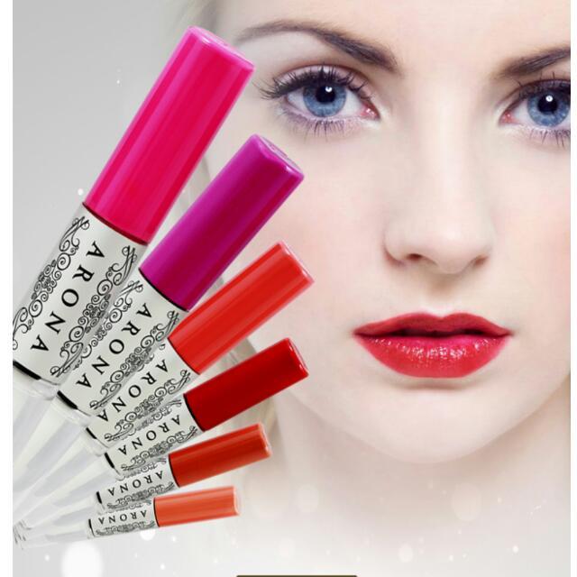 ARONA唇彩,甜心桃紅色(第一張相片上面第一個顏色)