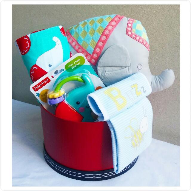 "Baby ""Elephant"" Gift Box"
