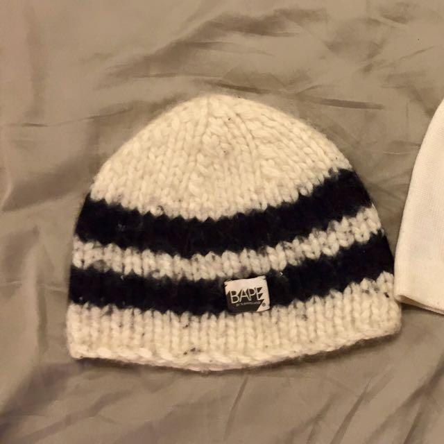 Bape經典毛帽