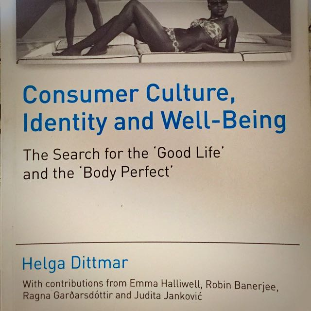 consumer culture identity and well being dittmar helga