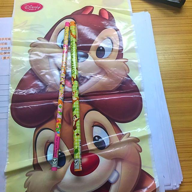 Disney 迪士尼 奇奇蒂蒂 Chip&Dale 鉛筆