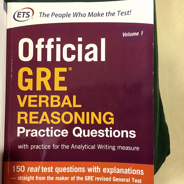 GRE Verbal Reasoning