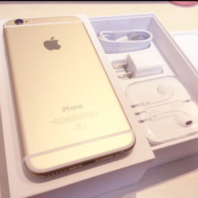 全新 Iphone 6 Plus 16g 金色