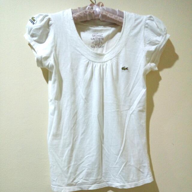 Lacoste Guaranteed White Shirt