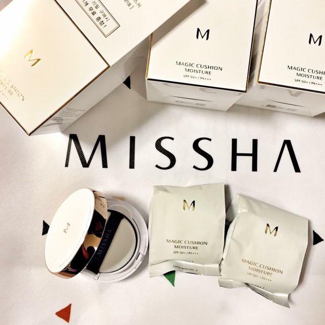 Missha 氣墊粉餅-買一送一 多買多送