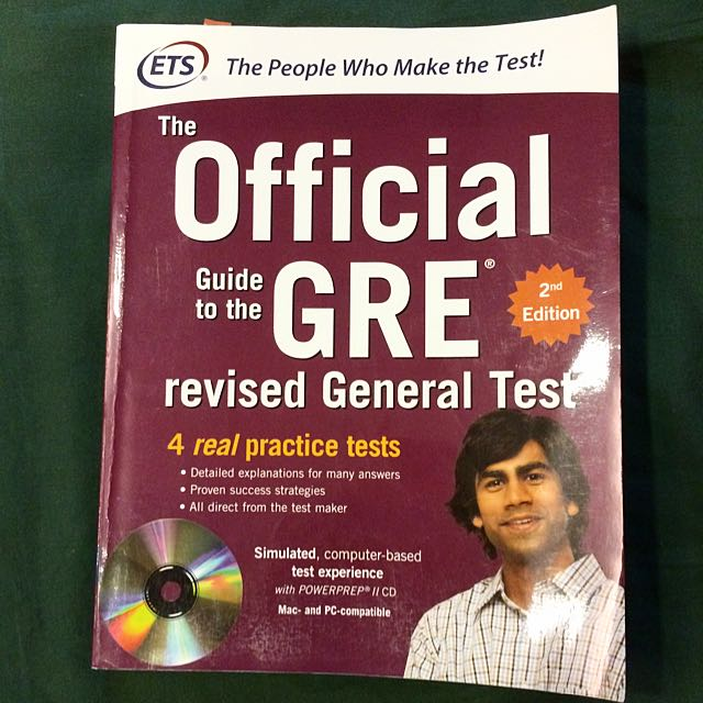 Official Guide To The GRE 第二版