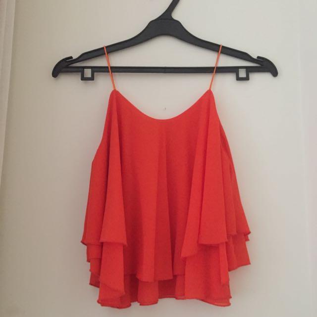 Orange Camisole