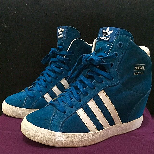 42117aea436d9 PRE-LOVED ADIDAS ORIGINALS BASKET PROFI UP, Women's Fashion on Carousell