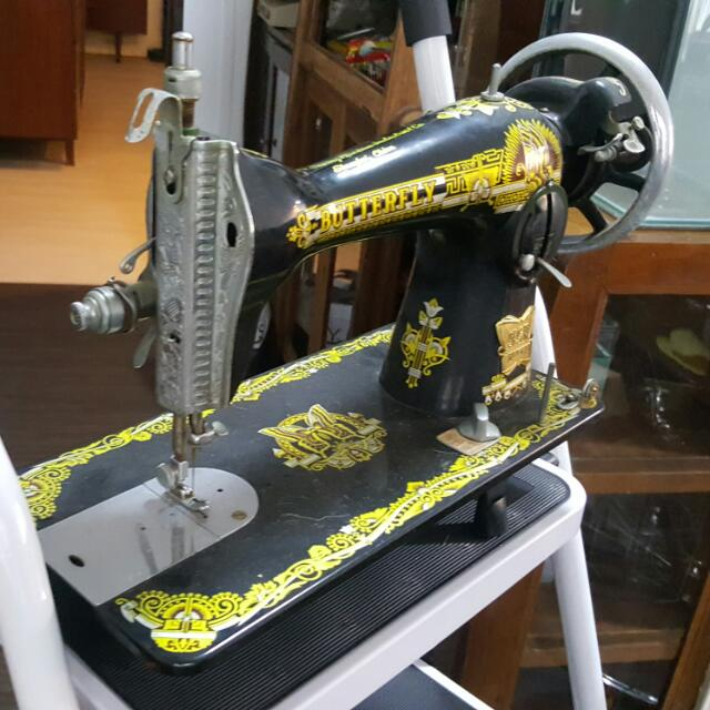 Butterfly Sewing Machine Vintage Collectibles On Carousell Stunning Butterfly Sewing Machine