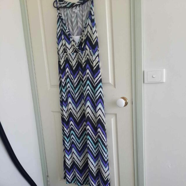 Size 16 Maxi Dress. Only Worn Once