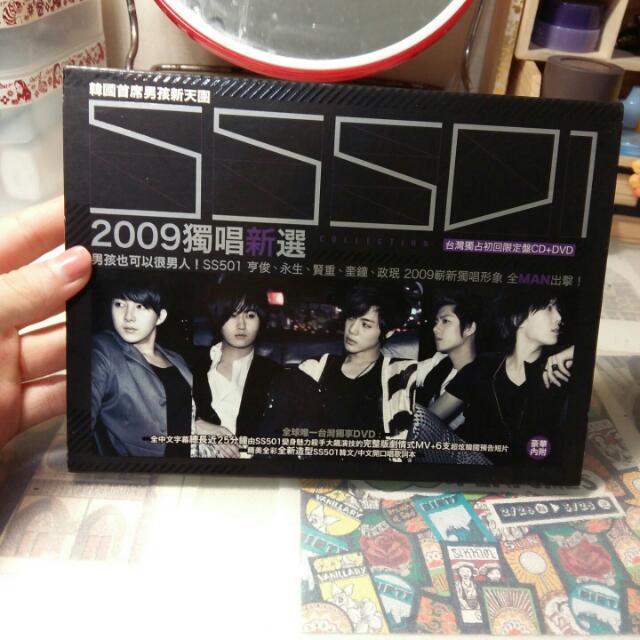 SS501獨唱新選台灣獨占初回限定盤CD+DVD