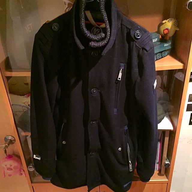 Superdry 極度乾燥 大衣 寒流必備
