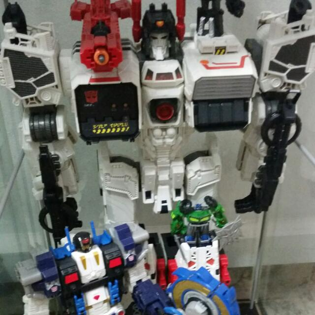transformers metroplex set toys games on carousell
