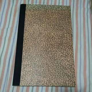 Empty Lined A4 Notebook
