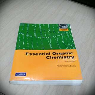 有機化學用書 [[Essential Organic Chemistry]]第二版 Paula Yurkanis Bruice