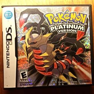 (Pending) Pokemon Platinum Version DS [Preowned]