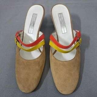 Rupert Sanderson 麂皮跟鞋