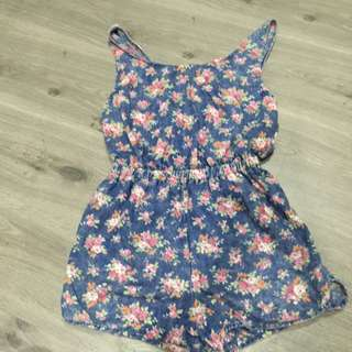 Floral Jumper Shorts
