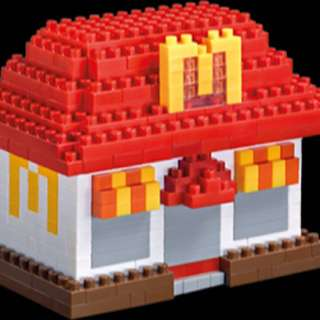 McDonald's Nanoblock - House🏠